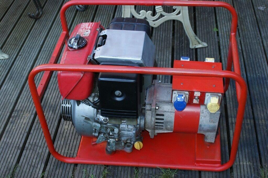 HONDA GD410 DIESEL GENERATOR 5 KVA (4000 WATT) 110/230 VOLT