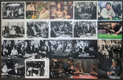Baccarat Casino History in MOVIES 20 RARE Original Movie Stills and Photos LOOK