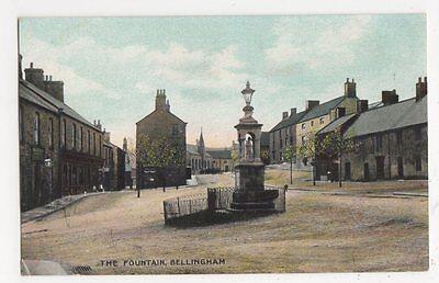 The Fountain, Bellingham Postcard, B113