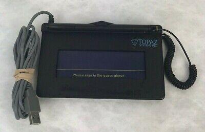 Topaz Signature Gem T-s460-hsb-r 1x5 Pad Usb