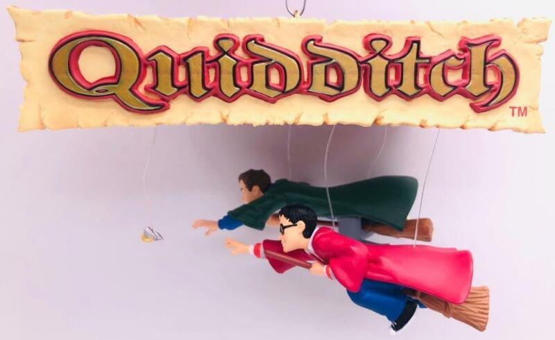 2002 Quidditch Season Hallmark Ornament Harry Potter