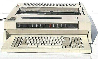 Vtg Ibm Wheelwriter 30 Series Ii Electronic Typewriter Led Screen Tested Works