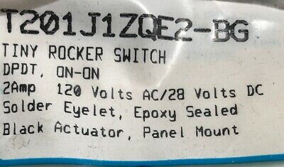 Seleca--tiny-rocker Switch 2 Amp120v Ac28 V-dcon-on