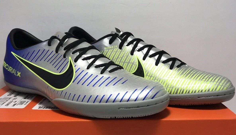 Nike Mens Size 10.5 MercurialX Victory VI IC Neymar Jr. Indo