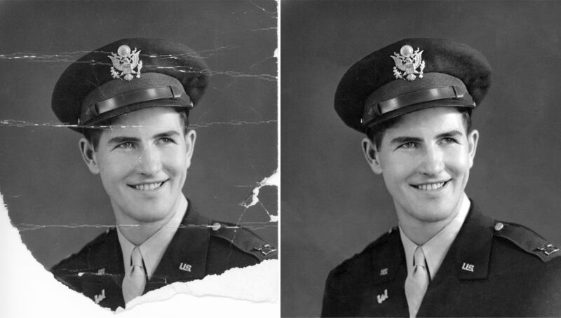 Company Owned Digital Photo Restoration - FAST Professional Service