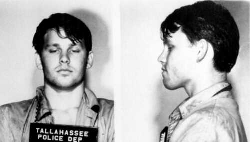 Jim Morrison Arrest Mug Shot High quality Photo Reproduction