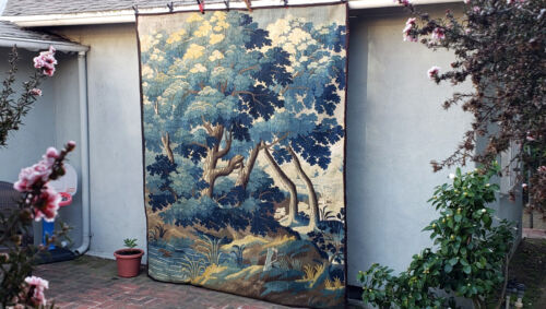 An Important Antique Verdure Tapestry
