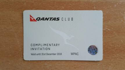 QANTAS Club Lounge Pass