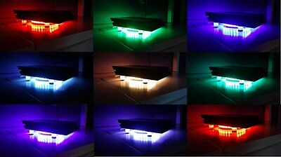 PS4 Kühler RGB LED USB Design Cooler Lüfter18cm Ständer passend für Playstation4