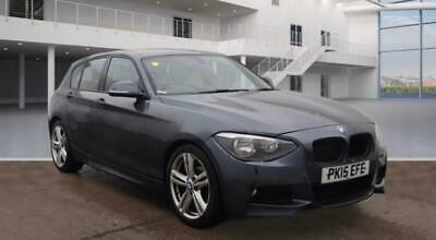 2015 BMW 1 Series 118D 2.0 M Sport Auto RED LEATHER