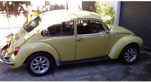 1975 VW BEETLE 1303 curved windscreen. Doncaster Manningham Area Preview