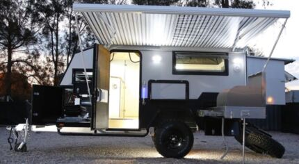 2017 UNUSED12ft Off Road Caravans, UNRESERVED ONLINE AUCTION CLEARANCE