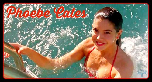 "5"" Sexy Phoebe Cates pin up vinyl sticker. Fast Times at Ridgemont High decal."