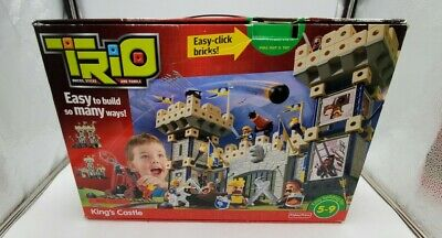 Fisher Price Trio Blocks Kings Castle Building Set P6841 Nearly Complete Kit