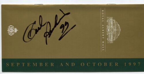 Carl Perkins signed autograph Concert Montserrat Beatles McCartney proof photo