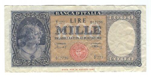 Italy - 1948, 1000 Lire