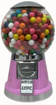 Pink Bulk Vending Machine Gumball Candy Toy Business Cancer Fundraiser Girl Gift