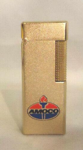 VINTAGE AMOCO OIL COMPANY ADVERTISING NESOR C-151 GOLD TONE LIGHTER