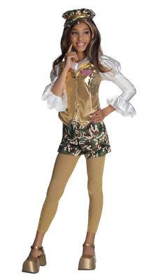 Mädchen Kind Bratz Sasha Armee Mädchen Kostüm Outfit
