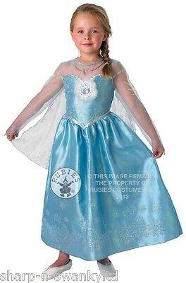 Reines Des Neiges Kostüm (Filles Disney la Reine des Neiges Musicale Illuminé Elsa Princesse)