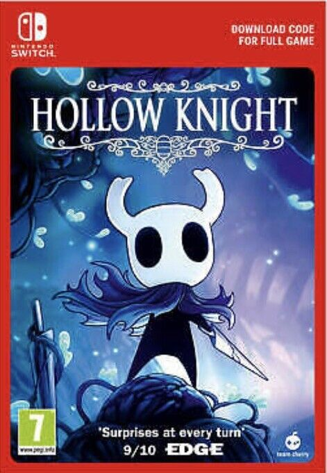 Hollow Knight - Nintendo Switch Game Code - Fast delivery