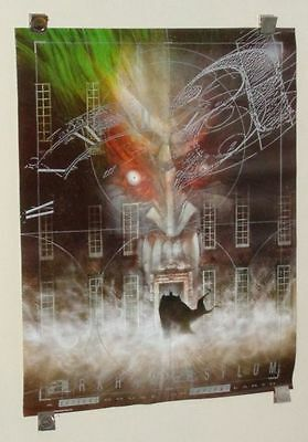 Original 1989 Arkham Asylum 28 By 21 1 2 Dc Comics Vintage Batman Poster 1 Joker