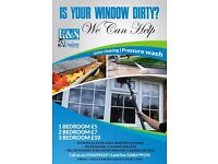 REGULAR WINDOW CLEANING, PRESSURE WASH,GUTTER CLEANING