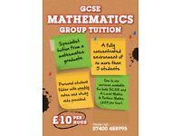 ***£10 per hour*** LAST FEW SEATS - Mathematics Tuition - GCSE / A Level Maths Tutor