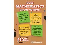 From **£10 PER HOUR** - GCSE / A Level Mathematics Tuition - Maths Tutor