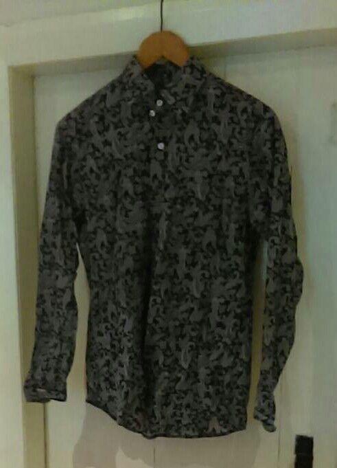 Paisley men's shirt, pop