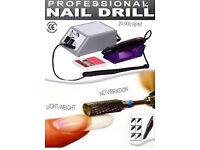 Acrylic Electric Nail Drill with Drill Bits