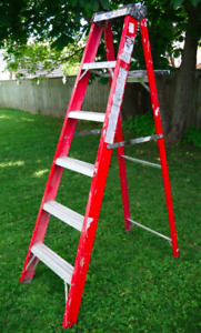 6ft Fiberglass Step ladder