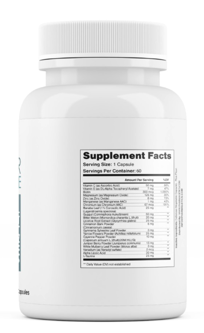 Sugar Balance Herbal Supplement To Support Healthy Glucose Metabolism 60 Caps 2