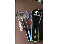 2x Carlton Badminton set with Carlton shuttlecocks