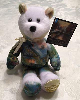 Thomas Kinkade Bear 2003 Limited Edition A Quiet Evening Collectible Plush