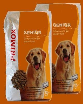 PRIMOX SENIOR 2x12 kg ältere Hunde Senior ohne Konservierungsstoffe Hundefutter