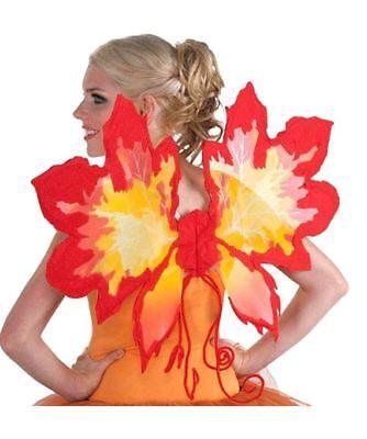 NEW NWT Forum Novelties Women's Fantasy Fairies Autumn Leaf Wings Leaves Fairy ](Autumn Fairy Costume Halloween)