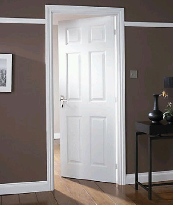 Pre Painted Internal Doors From 80 Supplied And Fitted With Handles
