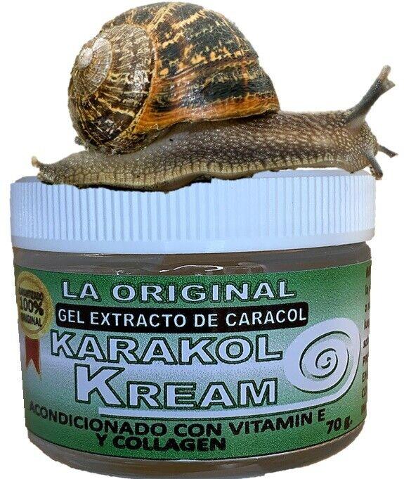 Karakol Kream Baba de Colageno Gel Acne Dermacina Celulas Celltone Cero Manchas