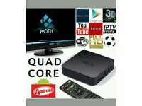 MXQ - ANDROID TV SMART HD BOX