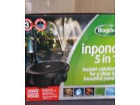 BLAGDON INPOND 5IN1 3000 PUMP + FILTER