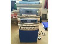 Goodmans karaoke system - 3 disc multichange