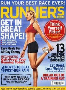 RUNNERS RUNNER'S WORLD MAGAZINE May 2012 Lose Weight Easy Meals for energy