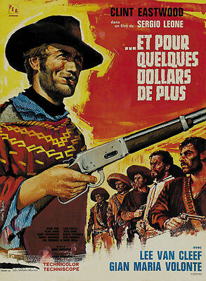 For A Few Dollars More 14inx36in Insert Movie Poster Replica