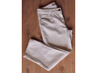 WOMENS NEXT CROPPED JEANS (WHITE)