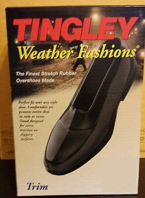 TIngley Mens Rubber Overshoes -Trim Style 1800- Medium - Size 8.5 - 10-FAST SHIP