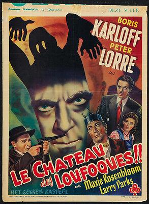 The Boogie Man Will Get You (1942) Boris Karloff Horror movie poster print ](Boogie Man Movie)