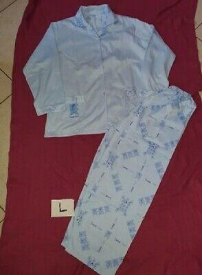 pyjama femme bleu avec ourson T:L