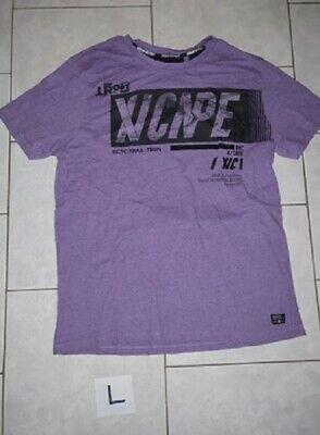 T-shirt homme ton mauve T:L