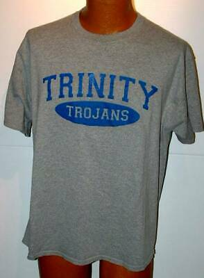 Team gear Trinity Trojans spirit pe gym  T shirt screened 48  for sale  Shipping to Nigeria